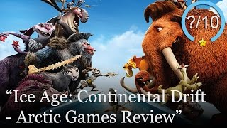 Ice Age 4: Continental Drift Arctic Games Review (Video Game Video Review)