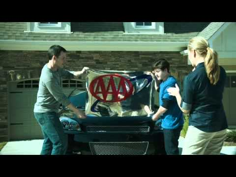 Triple A Car Insurance >> Aaa S Triple A Insurance Big Sticker Commercial With Arvell Poe 2