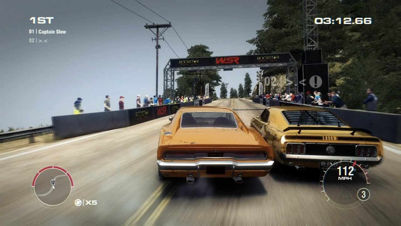 GRID 2 Multiplayer Face Off: Tier 1 Upgraded Dodge Charger ...