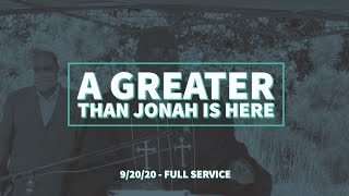A Greater Than Jonah is Here