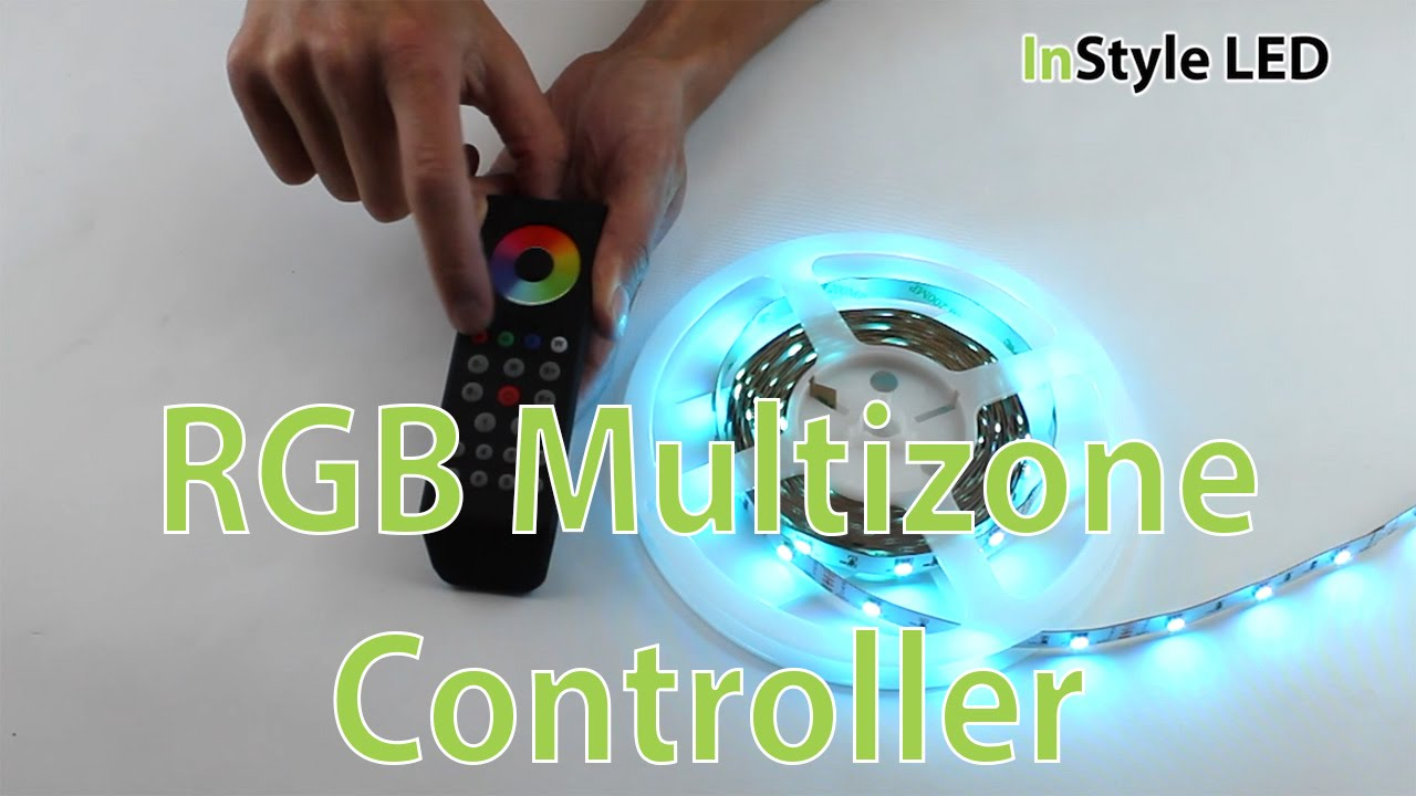 Led Strip Lights How To Wire Set Up And Use The Instyle Rgb Tape Light Along With Multicolor Strips Wiring Multizone Controller