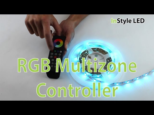 LED Strip Lights - How to wire, set up and use the InStyle LED RGB Multizone Controller