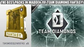 THE BEST PACKS IN MADDEN 19! TEAM DIAMOND FANTASY PACKS! | MADDEN 19 ULTIMATE TEAM