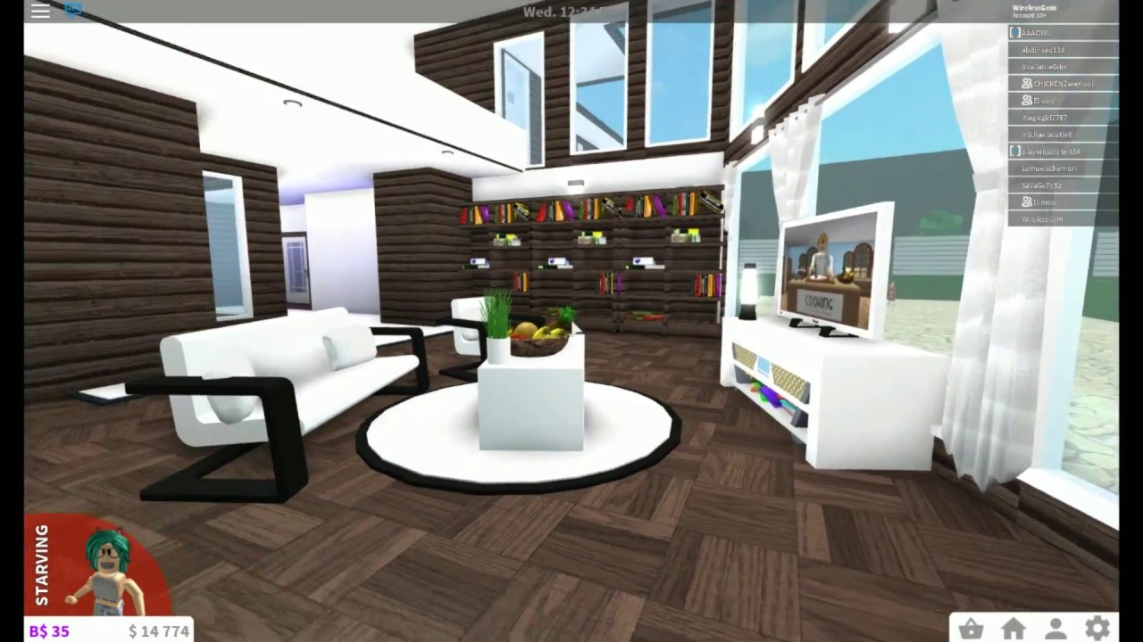 Roblox subscriber tours trimoo bloxburg youtube for Kitchen designs bloxburg