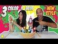3 colors of glue slime new style 3 colores de cola para slime nuevo estilo bego y jordi mp3