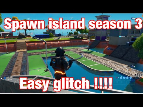 How To Go To Spawn Island In FORTNITE Chapter 2 Season 3  [ Easy Glitch  ]