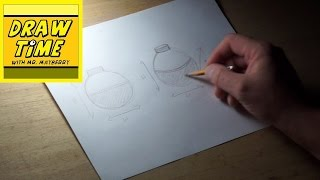 How to Draw a Fishing Bobber
