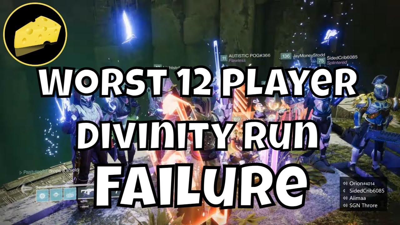 Worst 12 Player Divinity Fail Ever