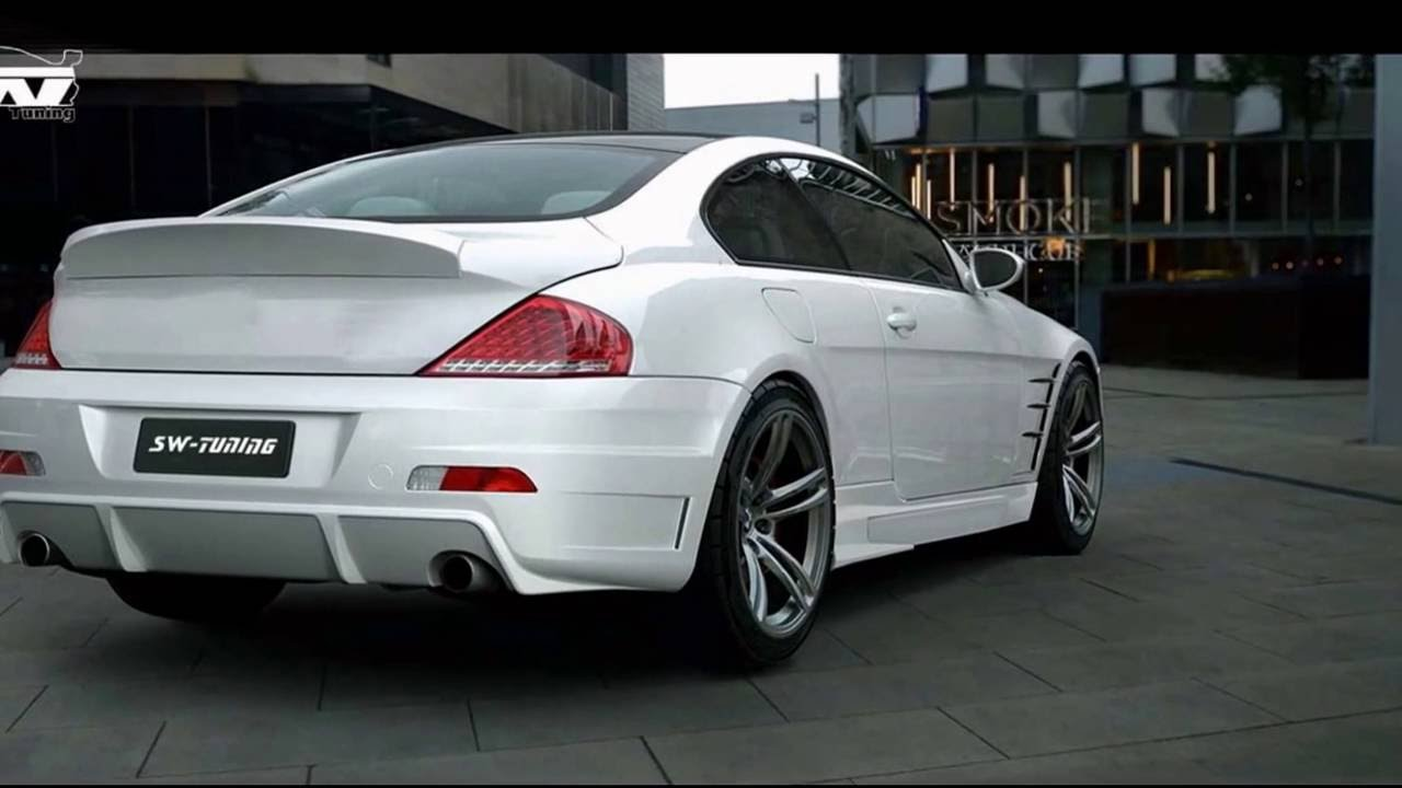 sw tuning bodykit s design 6er bmw e63 e64 youtube. Black Bedroom Furniture Sets. Home Design Ideas