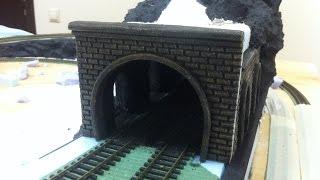 Робимо портал тунелю#2-Х ПУТНІЙ ПОРТАЛ 1:87