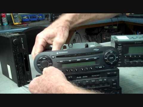Volkswagen Stereo Removal and Aftermarket Installation - YouTube