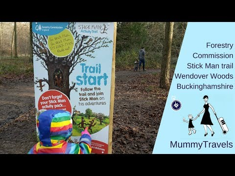 The Forestry Commission Stick Man Trail at Wendover Woods