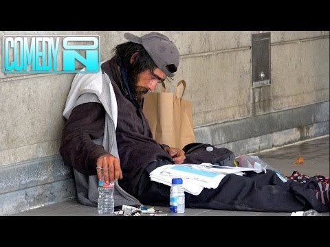 Top 5 Helping the Homeless - Social Experiments 2017