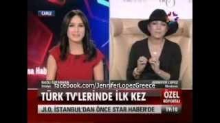 Jennifer Lopez on Star TV Turkey Live from Moscow 9/11/12