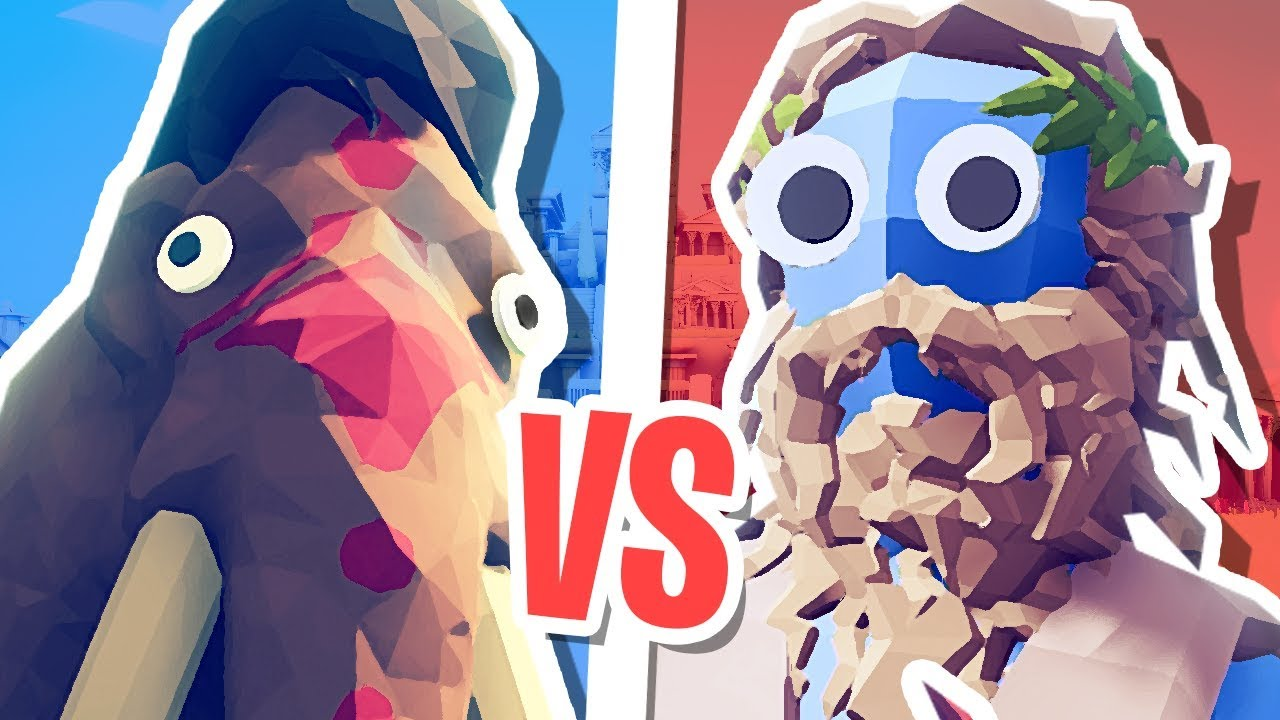GIANT MAMMOTH vs ZEUS! | Totally Accurate Battle Simulator