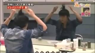 Японский розыгрыш с зеркалом. Призрак в зеркале.
