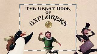 The Great Book of Explorers AR Children Book