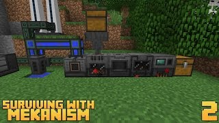 Surviving With Mekanism v9 :: Ep.2 - 3x Ore Processing Setup