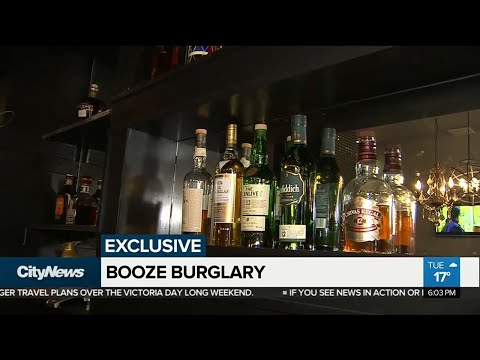 Thieves loot vintage liquor cabinet, steal cash from Toronto restaurant