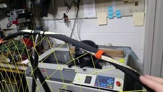 Paraglider anti-collision strobe installed.  Testing.