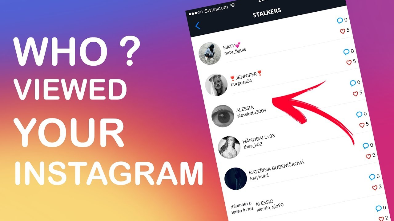 How To See Who Viewed and Stalked My Instagram Profile ...