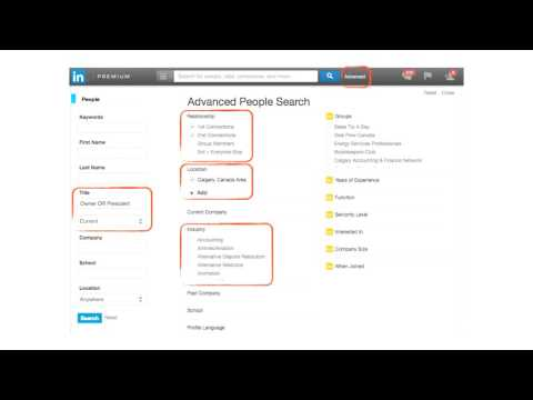 Bookkeeping Marketing Tip 9 Get LinkedIn To Send You Bookkeeper Sales Leads