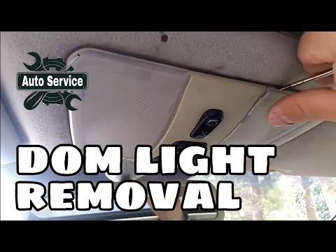 CAR Repair – Mercedes Front Dome Light Removing