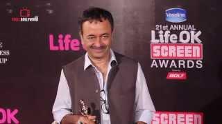 Rajkumar Hirani at Life Ok Screen Awards 2015 | Best Dialogue Award for Pk
