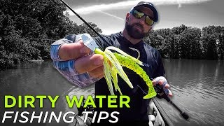 Muddy Water Bass Fishing Tips: Best Bait Colors & Techniques