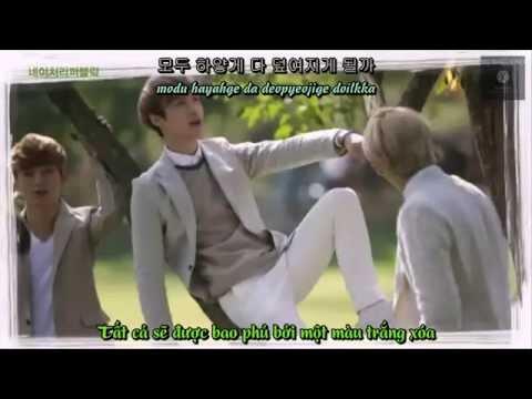 [Vietsub+Kara+Hangul] First snow - EXO (Korean Version)