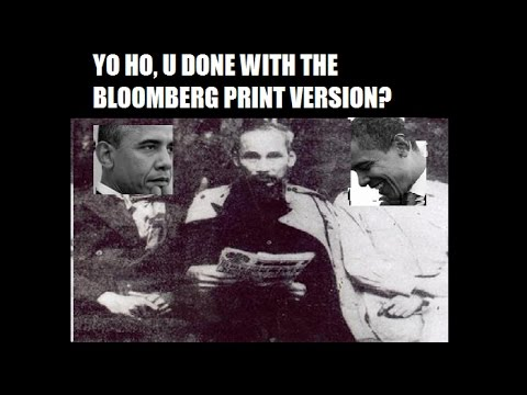 Bloomberg goes Ho Chi Minh Trail in order to shill for Obamacare