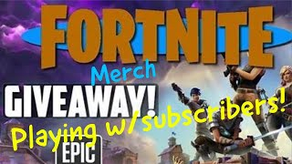 Fortnite Playing w/Abonnés - Giveaway! Sub à Take Away From T Series!
