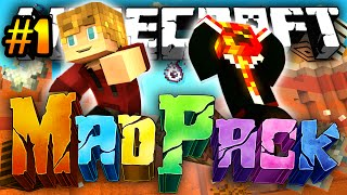 "Minecraft MAD PACK 2: ""EVIL BOSSES"" #1 (Modded Survival) w/Lachlan & Preston"