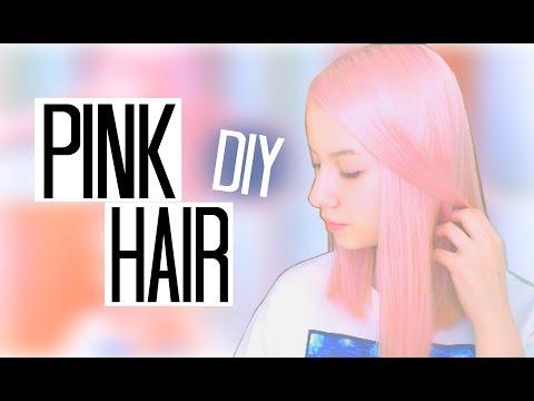 PINK PASTEL HAIR || КАК ПОКРАСИТЬ ВОЛОСЫ В РОЗОВЫЙ ДОМА? ♡