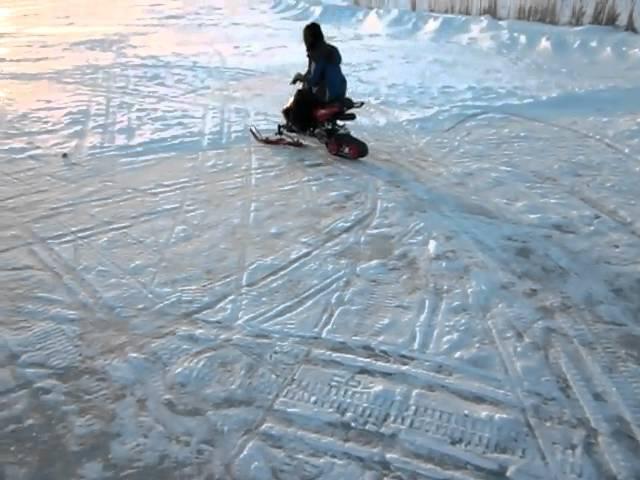 snowfox kids snowmobile