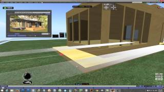 Second Life - Building with the Grid - Mini Home