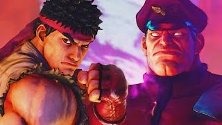 Street Fighter 5 - FINAL BOSS & ENDING