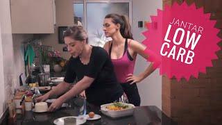 JANTAR LOW CARB SUPER GOSTOSO - Aprenda a fazer uma receita saudável, fit e rica em nutrientes