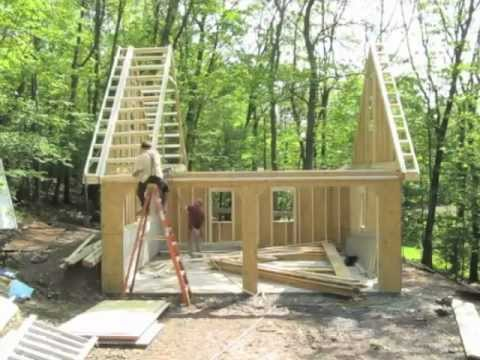 Prefab two car garage pa nj ny ct youtube for Two car garage with apartment on top
