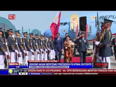 Presiden Jokowi Akan Bertemu Duterte di Istana Malacanang