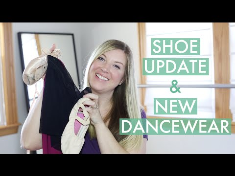 Shoe Update & New Dancewear!