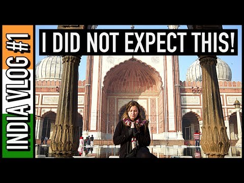 I DID NOT EXPECT DELHI TO BE LIKE THIS!! | India Travel Vlog #1