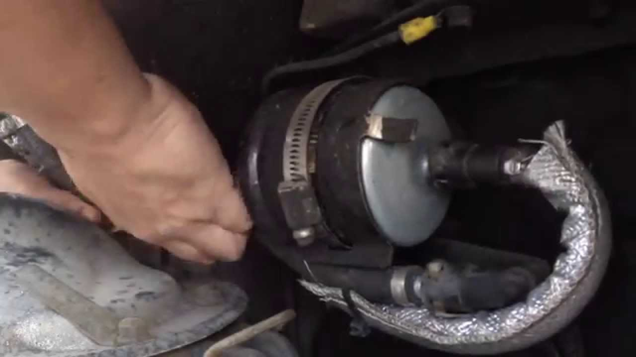 hight resolution of fuel filter on 95 mustang gt youtubefuel filter on 95 mustang gt
