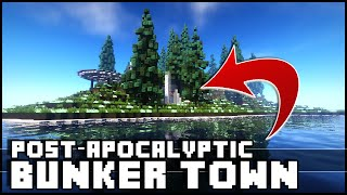 Minecraft - Post-Apocalyptic Bunker Town