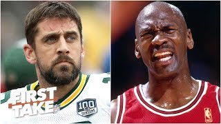 Aaron Rodgers' excellence makes him hard to deal with like MJ and Kobe – Marcus Spears | First Take