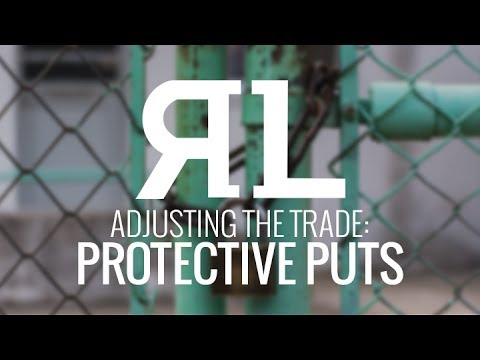 Adjusting the Trade: Protective Puts
