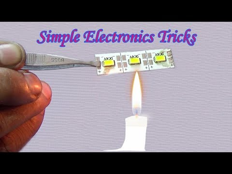 How To Change/Replace SMD LED Chips (Simple Electronics Tricks) - Very Useful