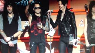 Black Veil Brides at revoler golden gods 2013