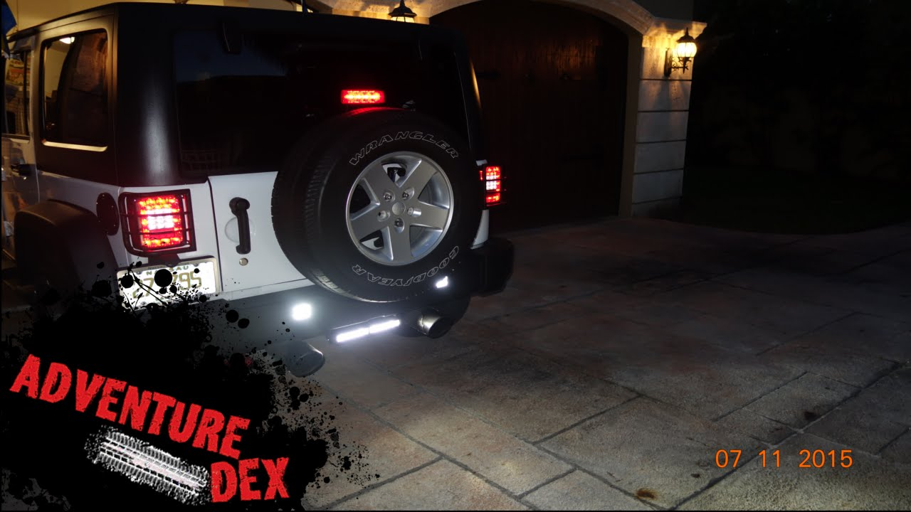 JEEP Reverse LED Light by Auxbeam YouTube – Jeep Wrangler Backup Switch Wiring
