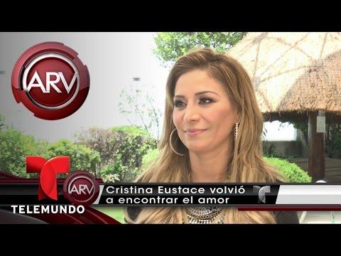 Cristina Eustace presenta a su nuevo enamorado | Al Rojo Vivo | Telemundo